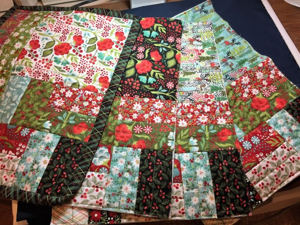 Christmas Placemats Tutorial The Quilting Nook
