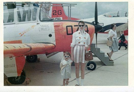 Mom and me plane