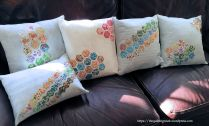Grandma's Hexagon Pillows