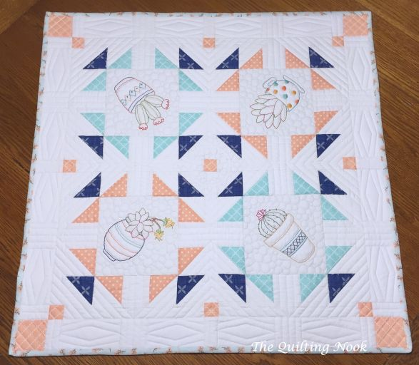 Table Topper Picture for Instructions